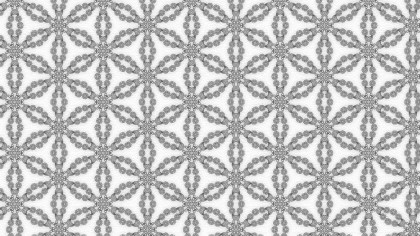 Grey Vintage Floral Seamless Pattern Background Graphic