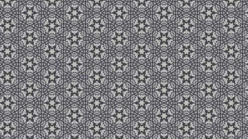 Gray Vintage Decorative Ornament Background Pattern