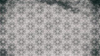 Gray Vintage Seamless Ornamental Pattern Wallpaper