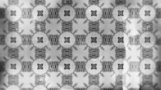 Grey Vintage Ornament Wallpaper Pattern Design