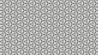 Grey Geometric Seamless Ornament Pattern Background