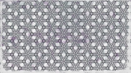 Grey Geometric Ornament Background Pattern
