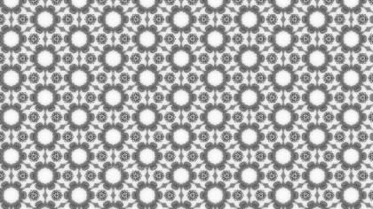 Gray Geometric Ornament Seamless Background Pattern Design