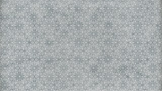 Grey Geometric Seamless Ornament Pattern Wallpaper
