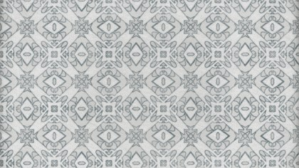 Grey Decorative Geometric Seamless Wallpaper Pattern
