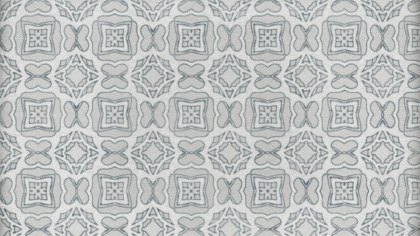 Gray Decorative Seamless Wallpaper Pattern Graphic
