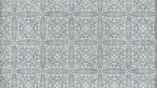 Grey Geometric Ornament Seamless Wallpaper Pattern