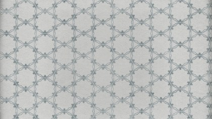 Gray Geometric Ornament Wallpaper Pattern Design