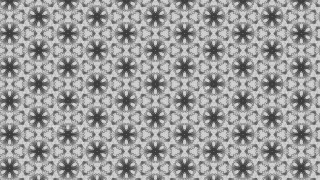 Gray Seamless Geometric Ornament Wallpaper Pattern Design Template