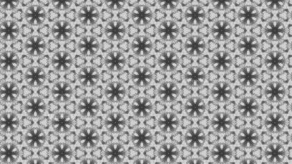 Gray Seamless Geometric Ornament Wallpaper Pattern Design Template