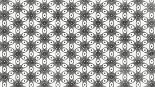 Grey and White Floral Ornament Background Pattern Graphic