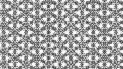 Grey and White Ornament Background Pattern Image
