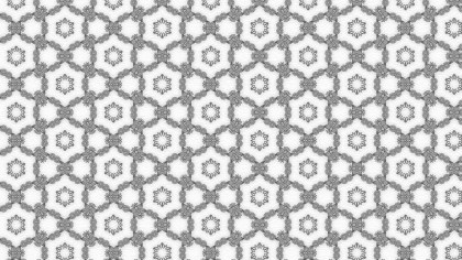 Gray and White Vintage Seamless Wallpaper Pattern Template
