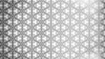 Seamless Floral Geometric Pattern Background