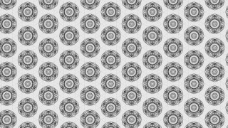 Gray and White Decorative Background Pattern