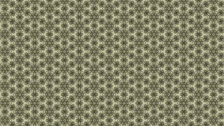 Khaki Vintage Seamless Floral Background Pattern