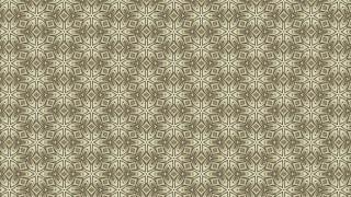 Khaki Vintage Seamless Ornament Wallpaper Pattern Design Template