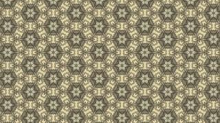 Khaki Seamless Floral Vintage Pattern Background Image