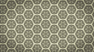Khaki Vintage Decorative Floral Seamless Pattern Background Image