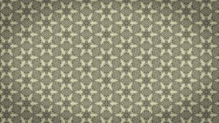 Khaki Vintage Ornamental Pattern Background