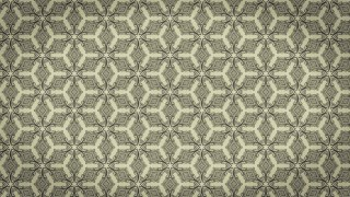 Khaki Vintage Ornamental Seamless Pattern Background Design