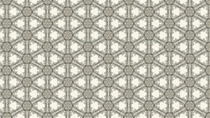 Light Brown Seamless Floral Background Pattern