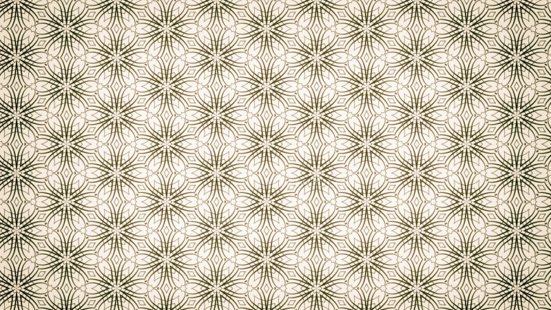 Light Brown Vintage Seamless Ornamental Pattern Background