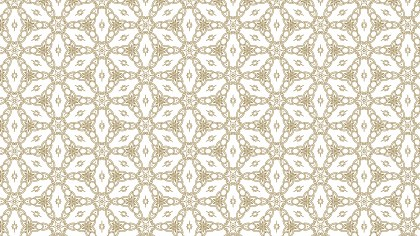 Light Brown Vintage Seamless Ornamental Pattern Wallpaper