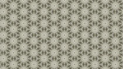 Light Brown Seamless Floral Vintage Pattern Background Image