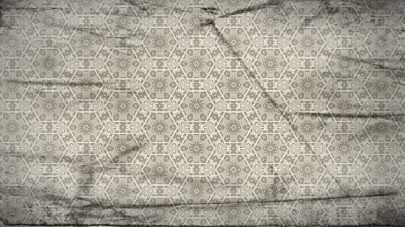 Light Brown Vintage Ornamental Seamless Pattern Background Design