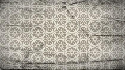 Light Brown Vintage Seamless Ornamental Pattern Background