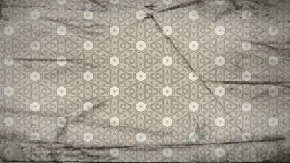 Light Brown Vintage Decorative Floral Seamless Pattern Wallpaper Design