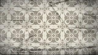 Light Brown Vintage Ornamental Pattern Wallpaper
