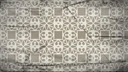 Light Brown Vintage Seamless Floral Wallpaper Pattern