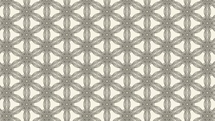 Light Brown Vintage Flower Background Pattern