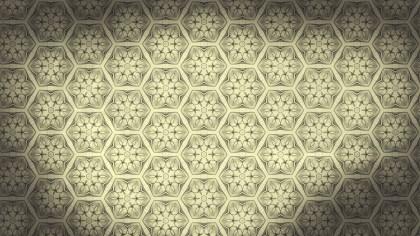 Light Brown Vintage Decorative Floral Pattern Wallpaper