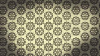 Light Brown Vintage Ornamental Seamless Pattern Wallpaper Template