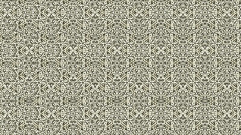 Light Brown Vintage Decorative Ornament Wallpaper Pattern