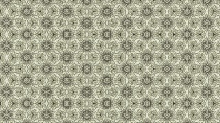 Light Brown Vintage Flower Wallpaper Pattern