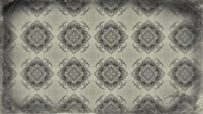 Light Brown Ornamental Vintage Background Pattern