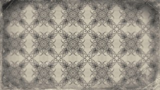 Light Brown Seamless Floral Vintage Pattern Background Image