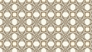 Light Brown Vintage Decorative Floral Ornament Background Pattern Design Template