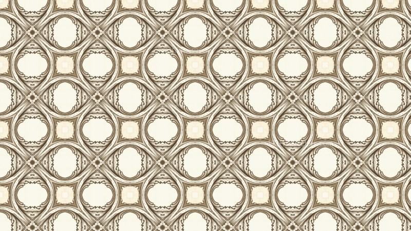 Light Brown Vintage Decorative Floral Ornament Background Pattern Design Template
