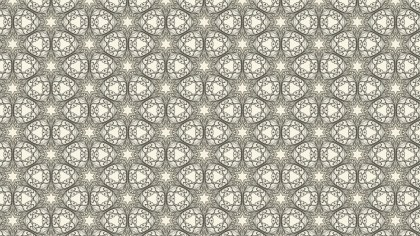 Light Brown Vintage Ornamental Seamless Pattern Wallpaper Template