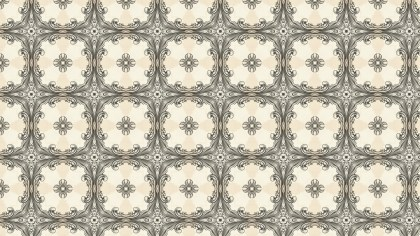 Vintage Floral Pattern Background Texture