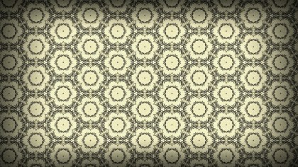 Light Brown Ornamental Vintage Background Pattern