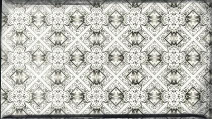 Light Brown Vintage Floral Pattern Background