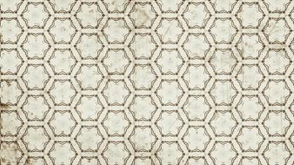 Light Brown Vintage Floral Ornament Background Pattern Template