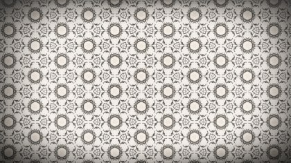 Floral Seamless Geometric Background Pattern Template