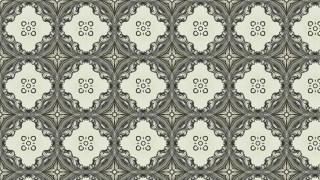 Decorative Floral Ornament Pattern Wallpaper Template